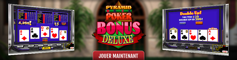 Video Poker en ligne Pyramid Bonus Deluxe